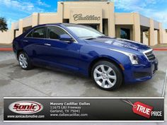 Maybe red isn't your color? Look brilliant in a Blue 2014 Cadillac ATS. Garland Tx, Cadillac Ats, Come And See, Driving Test, Cars For Sale, Dallas, Metallic, Vehicles, Colors