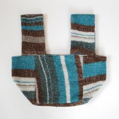 tamaki niime HACO bag wool70% B - 手仕事のうつわと雑貨の通販サイト|雑貨店アオトキイロ