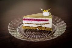 Dobos Torte Recipe, Creative Food, Vanilla Cake, Mousse, Cake Recipes, Meals, Cookies, Sweets, Travel