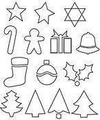 Felt Christmas Ornaments Templates - Bing Images