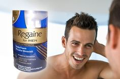 Protect your hair with Regaine scalp foam!