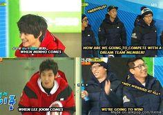 """""""We're going to win!"""" Running Man Idol Olympics"""