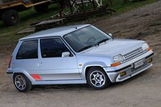 Renault 5 GT Turbo Silver