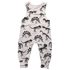 Awesome Baby Boy Girl Clothes Children Summer Sleeveless dinosaur Romper Cotton Jumpsuit Outfit Casual Sunsuit - $12.93 - Buy it Now!