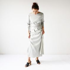 HDH Bridal Gray Bea Dress 11