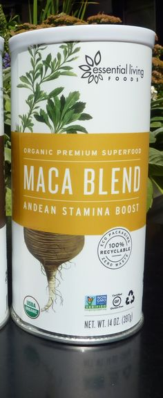 For my organic smoothies these days, I am loving Maca Blend by Essential Living Foods. Read why this product offers such great health benefits. http://livingmaxwell.com/coco-mojo-maca-blend-essential-living-foods #organic #maca #superfoods #health #smoothies #breakfast #energy