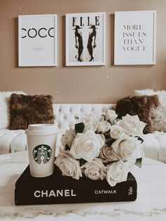 Hayley Larue Apartment Decor Neutral Living Room Decor Apartment Decor Home Decor Modern Decor Blondie in the City by Hayley Larue Chanel Decoration, Chanel Book Decor, Books Decor, Chanel Room, Best Decor, Living Room Update, Classy Aesthetic, Aesthetic Room Decor, My New Room