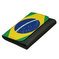 Brazil flag wallet