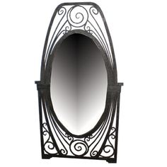 1stdibs   French Art Deco Mirror