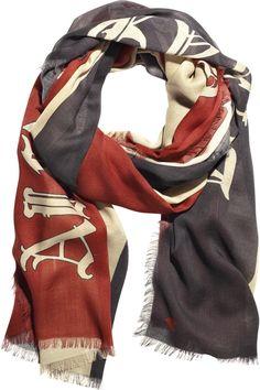 Alexander the Great scarf, Alexander McQueen