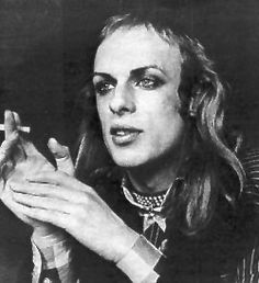 """Brian Eno - just realized he looks like the serial killer in Silence of the Lambs-""""Does it want water?""""  what a genius though"""