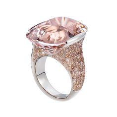 The Princess - White Nights - Thomas Jirgens Contemporary Jewellery, Modern Jewelry, Jewelry Art, Unique Jewelry, Jewelry Design, Jewlery, Coloured Stone Rings, Classic Feminine Style, Titanic Jewelry