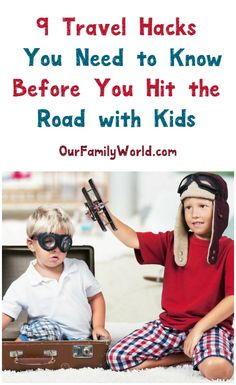 Whether you are headed out on a road trip, or headed to the airport, you know that if you are traveling with kids, it can be extremely stressful and challenging. However, there is some good news because things don't have to be this way at all. There are some tips and tricks you can use to make things easier and smoother. Here are some travel hacks for traveling with kids.