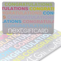 Congratulations Gift Card Always a great gift to give, a next card. Although I would probably spend it in the beautiful kids clothes range! Next Flowers, Congratulations Gift, Flowers Online, Beautiful Children, Getting Married, Great Gifts, Range, In This Moment, How To Plan