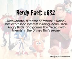 DOES THIS MEAN THAT THEYRE MAKING A WRECKIT RALPH 2????!!!!!