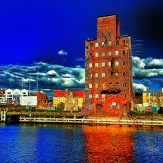 Gdansk Central Europe, Baltic Sea, Willis Tower, Traveling, City, Building, Places, Beautiful, Poland
