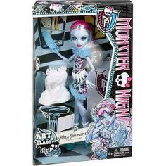 Boneca Monster High Aula De Arte Abbey Bominable Mattel - R$ 89,90 no MercadoLivre