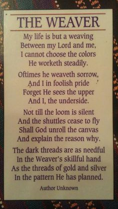 This poem always helped me when someone I loved passed away. My Grandma used to recite it. Hope u find it comforting too.