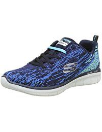 new arrival 8f0b6 cfd18 Skechers Damen Synergy 2.0-High Spirits Sneaker blau #schuhe ...