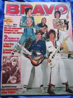 BRAVO Magazine 16/1976 Bay City Rollers/Beatles (Ringo)/T-Rex/Bolan/Bill Wyman | eBay