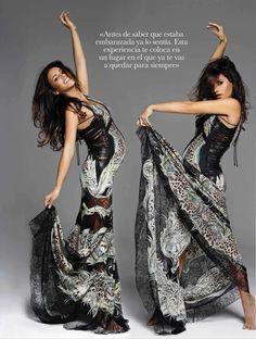 Bellyitch: Bump Watch: Monica Cruz covers Elle magazine (PHOTOS)
