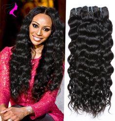 88.75$  Buy now - http://alibhj.worldwells.pw/go.php?t=32721028749 - 5 bundles Brazilian Nautral Wave Brazilian Hair Weave Bundles Brazilian Virgin Hair Natural wave 7A Brazilian Human Hair Weave 88.75$