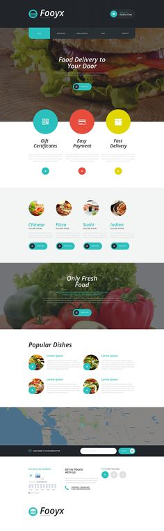 This food delivery services WP theme can give a head start to your business on the web. Devoid of sharp edges, this design is dotted with circular elements that complement the rest of the layout. A...