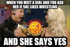 Lol this is how I feel whenever someone says they watch wrestling.