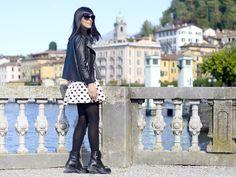 #LagodiComo: #Bellagio! Un vestito a pois per una domenica di relax! | #LakeComo: Bellagio! Polka dots dress on a relaxing Sunday! | #ootd #style #travels #streetstyle #outfit #pursesandi #lauracomolli