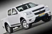 2014 Holden Colorado RG MY15 LS Crew Cab White 6 Speed Sports Automatic Utility Ferntree Gully Knox Area Preview