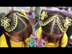 Crown, Hair Styles, Beauty, Education, Youtube, Anime, Fashion, Braided Updo, Easy Hair