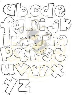Doodle Lettering, Creative Lettering, Hand Lettering, Lettering Tutorial, Alphabet Stencils, Art Worksheets, Graffiti Drawing, Bullet Journal School, Different Fonts