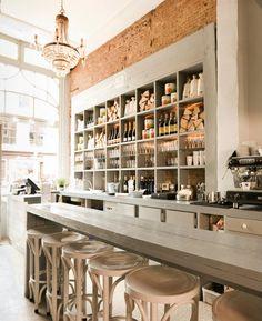 De Pizzabakkers | Haarlem, Netherlands Counter for classes, socializing or cafe