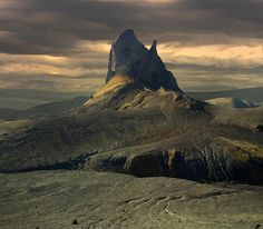 Mount Einhyrningur - Iceland