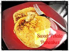 sweet potato pancakes #paleo #recipe #pancakes #breakfast