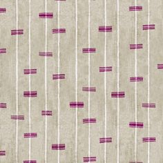 Jennifer Shorto   Aristida  Ethnic, Geometric, Prints, Stripe, Cotton  Cotton Blend, Linen, Natural Fiber, Fabric by Jennifer Shorto