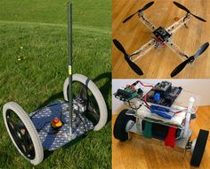 The TiltyIMU is a family of versatile open-source robotic controllers and software to allow anyone to build a self-balancing project.