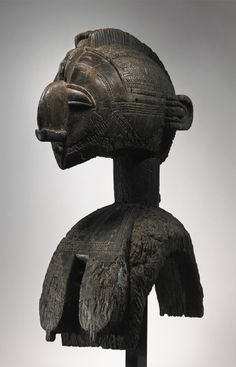 Africa | D'mba headdress from the Baga people of the Republic of Guinea | Wood | Prior to 1950s