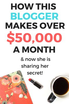 How this Blogger Makes over 50k Per month with her blog | Blog Income | Affiliate Marketing | Make Money Online | #affiliatelink