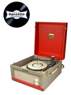Dansette Major Retro Record Player, Turntable, Record Player