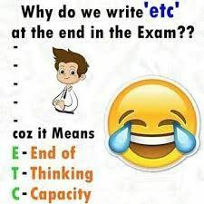English funny joke – english jokes & funny humor – very funny jokes Exam Quotes Funny, Exams Funny, Cute Funny Quotes, Jokes Quotes, Comedy Quotes, Comedy Films, Exam Over Quotes, Funny Friend Quotes, Friend Quotes Distance