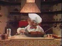 Swedish Chef - taught me everything I needed to  know in the kitchen - BORK BORK BORK!