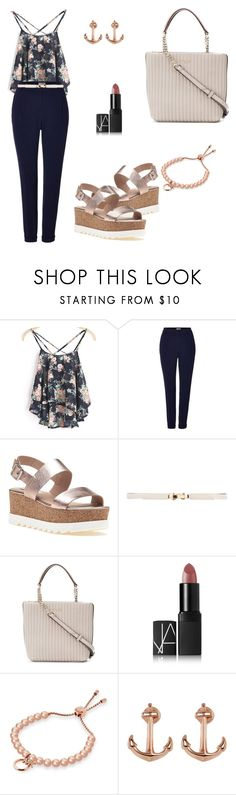"""""""Untitled #1111"""" by mariafilomena471 ❤ liked on Polyvore featuring WithChic, Marella, Steve Madden, Donna Karan, NARS Cosmetics, Michael Kors and Lucky Brand"""