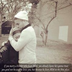 Cute Muslim Couples. Marry a brother in Islam who fears Allah (SWT).