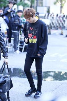 GOT7 YUGYEOM 151002 TO MUSIC BANK