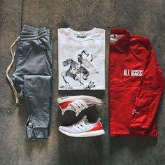 Relaxed Street Wear