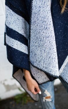 Super soft and warm cape - take an additional 25% off with code: ILYGIFT