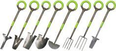 Ergonomically correct garden tools