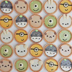 Hehehe remember these tarts are going to be at this weekend and every other weekend from black sesame totoro, matcha mike, earl grey bear , and do you guys prefer coconut Miffy or Minion ? Japanese Bakery, Japanese Sweets, Cute Desserts, Asian Desserts, Flan Cake, Mousse Cake, Anna Chan, Kawaii Dessert, Kid Cupcakes