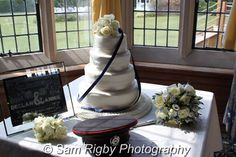 Ideas & Inspiration for Wedding Cakes - photographed by Sam Rigby Photography